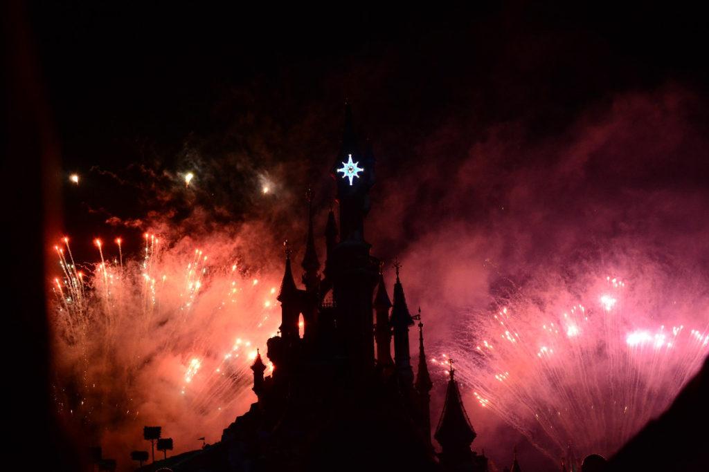Disneyland Paris at Night